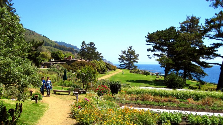 Gardens Esalen Institute Big Sur
