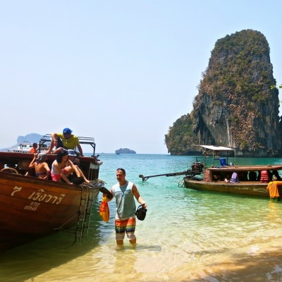 Arriving Railay